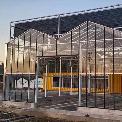 玻璃温室展示厅